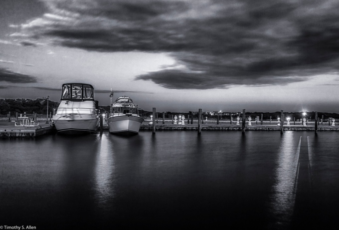Docks at Watch Hill Visitors Center, Fire Island National Seashore, NY, USA September 9, 2015