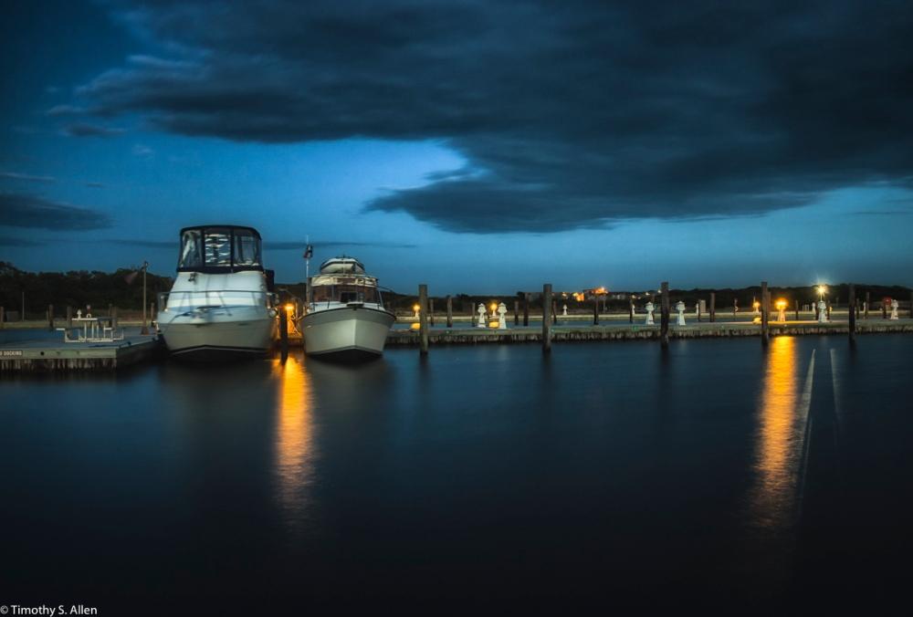 Docks at Watch Hill Visitors Center, Fire Island National Seashore, NY, USA September 9, 2015