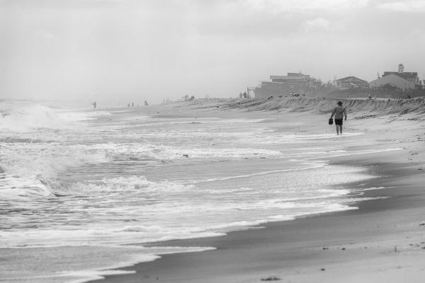 Beach Between Watch Hill and Davis Park, Fire Island, NY, USA September 13, 2015