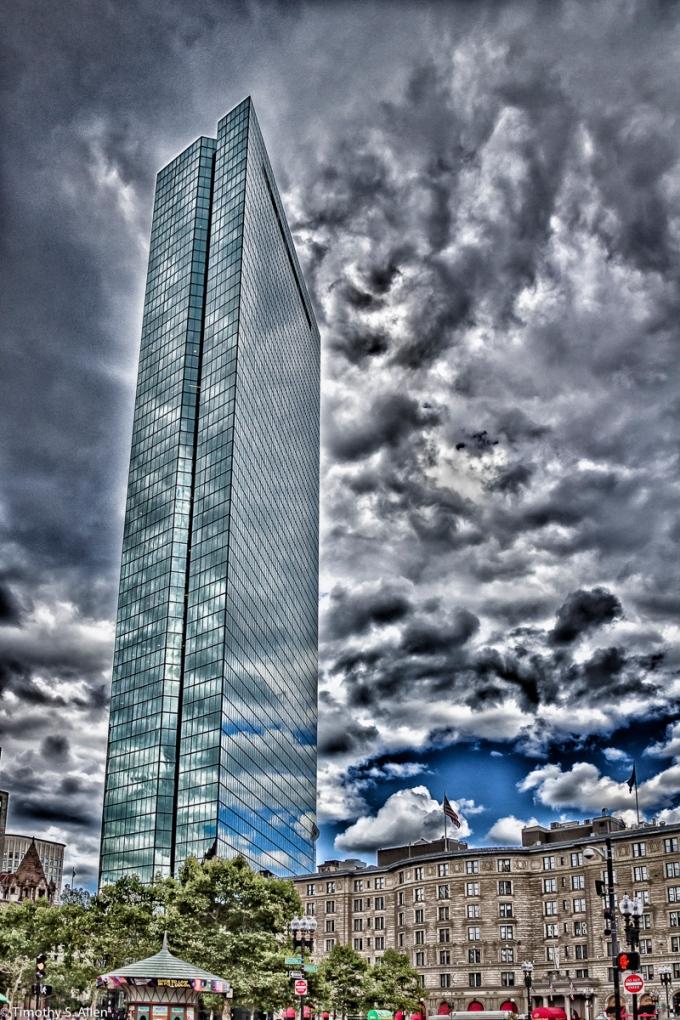 John Hancock Building, Boston, MA, USA August 27, 2015