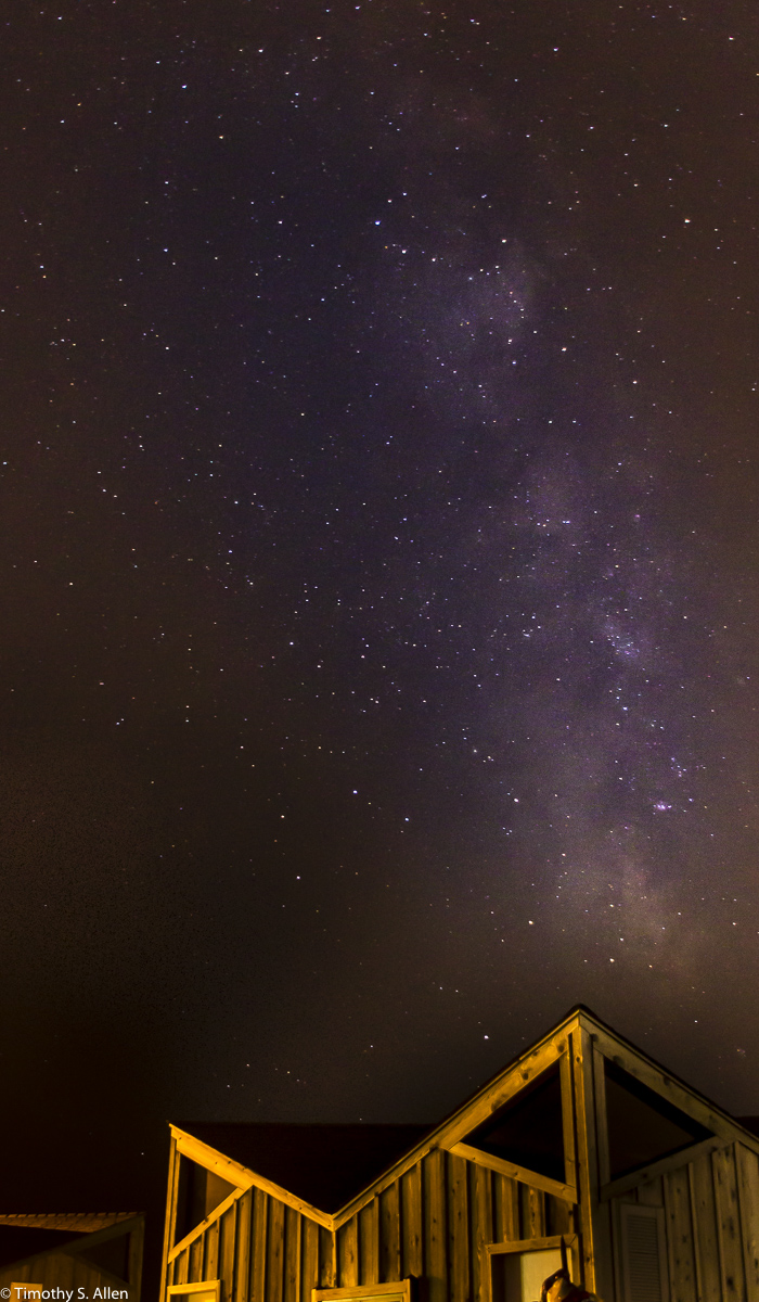 Fire Island National Seashore, Watch Hill, NY, USA ISO 1600, 20 sec, f/3.5 September 7, 2015, 10:12 PM EDT. 40.689146, -72.987968