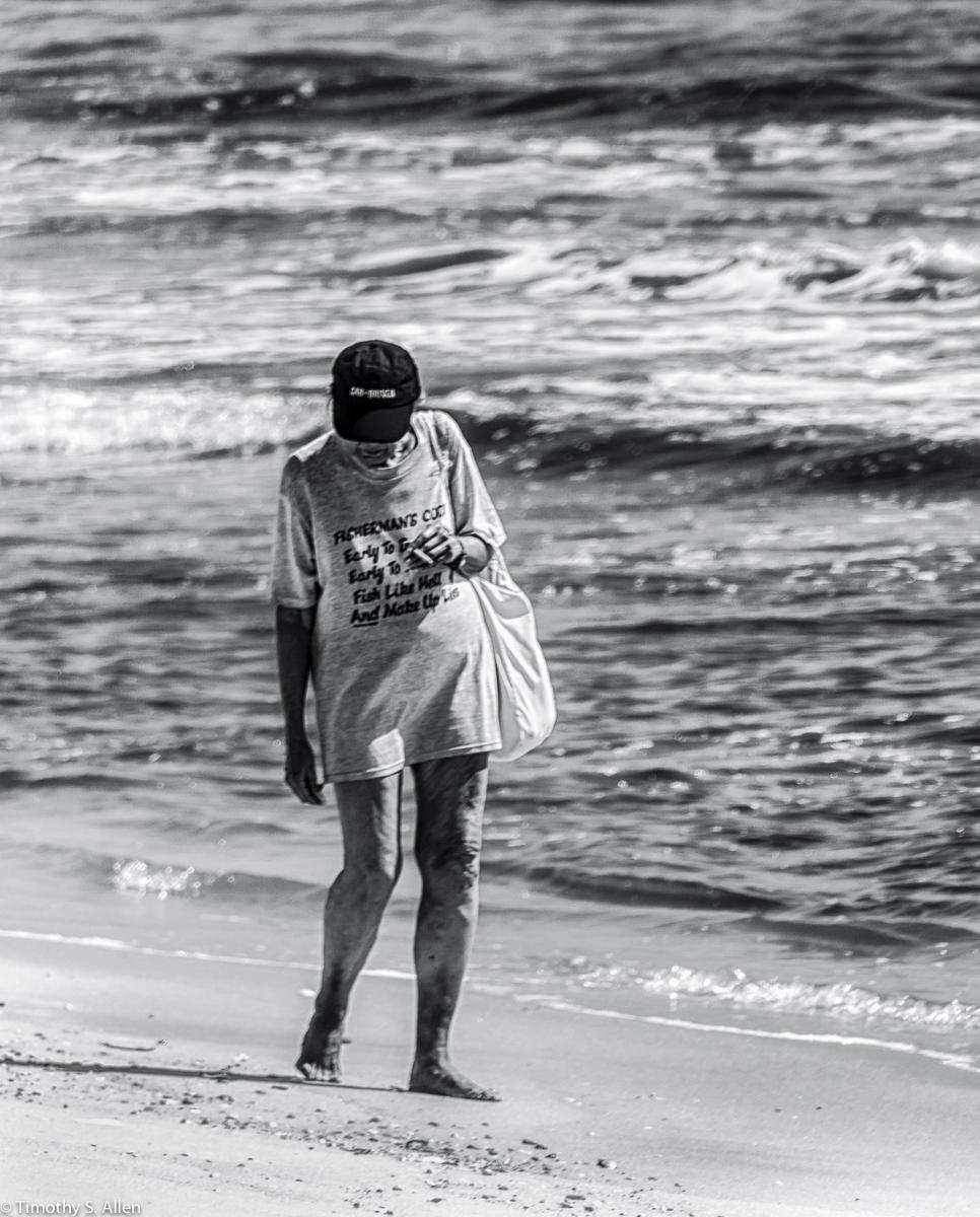 Beach at the Fire Island National Seashore, Watch Island, NY, USA September 9, 2015