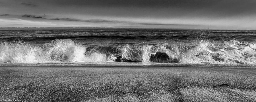 Beach at the Fire Island National Seashore, Watch Island, NY, USA September 11, 2015