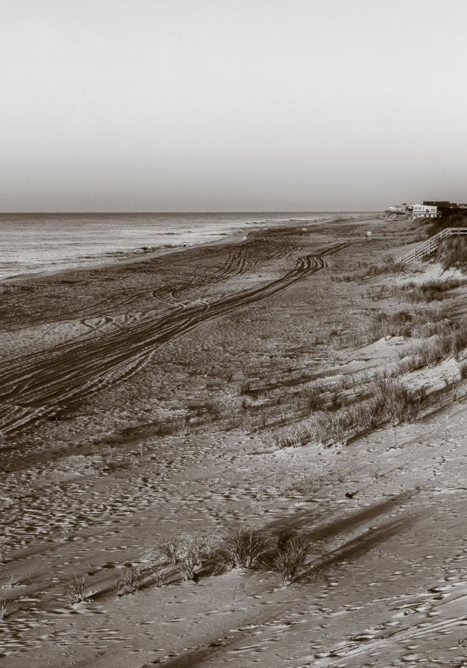 Beach Between Watch Hill and Davis Park, Fire Island, NY, USA September 13, 2015