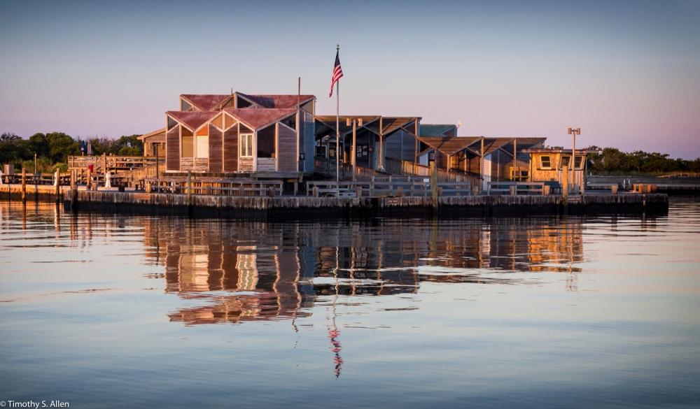 Watch Hill Visitors Center Marina, Fire Island National Seashore, Fire Island, NY, U.S.A. September 18, 2015