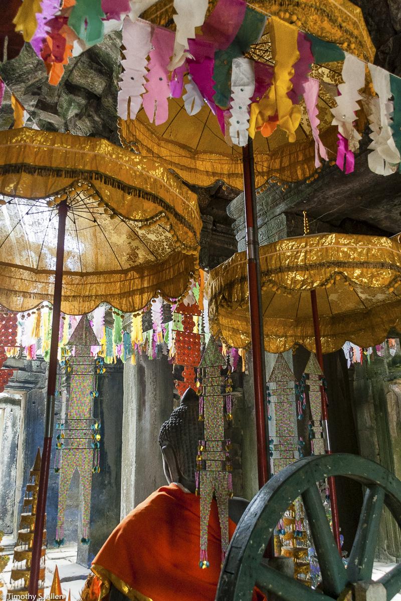Shrine to Buddha Angor Wat, Cambodia January 18, 2012