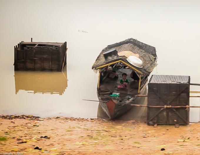 Mekong River, Cambodia January 16, 2012