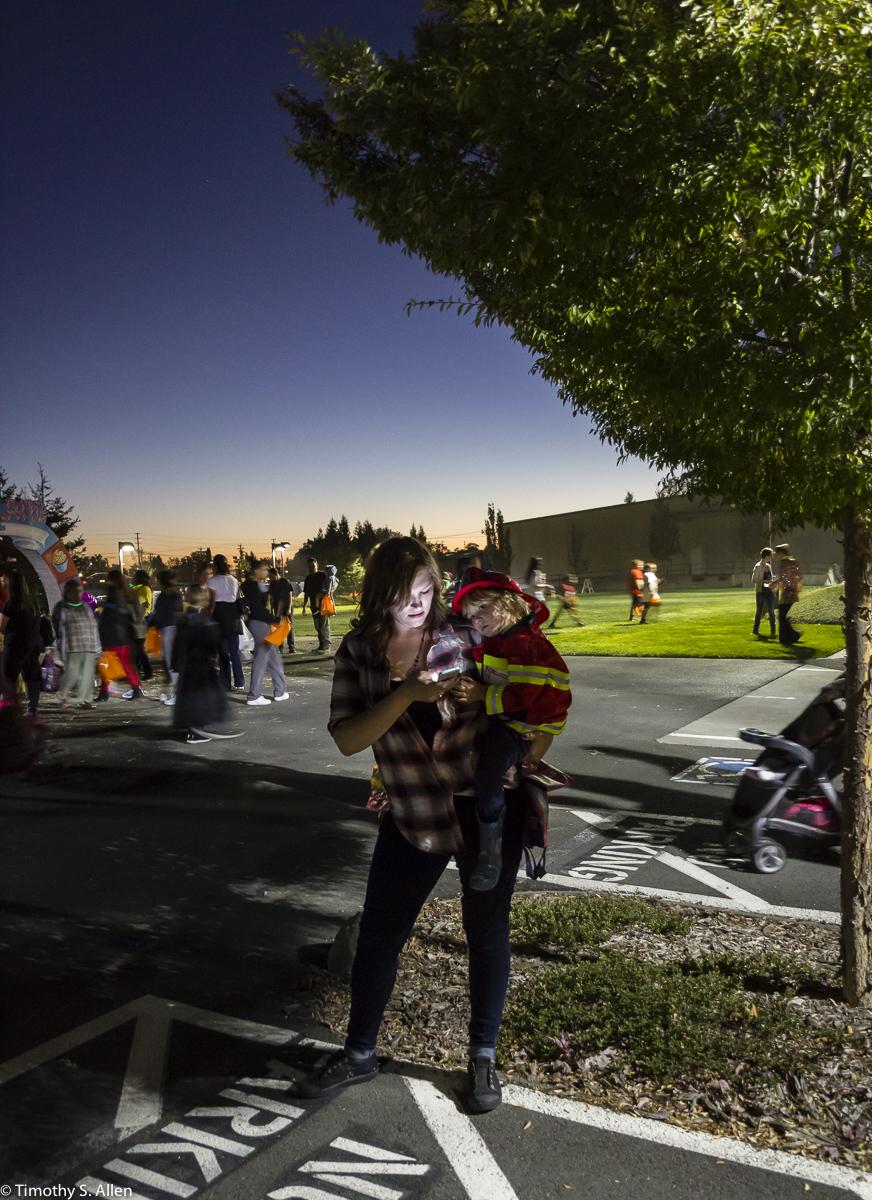 Trunk or Treat Event Spring Hills Community Church Santa Rosa, CA, USA October 30, 2015