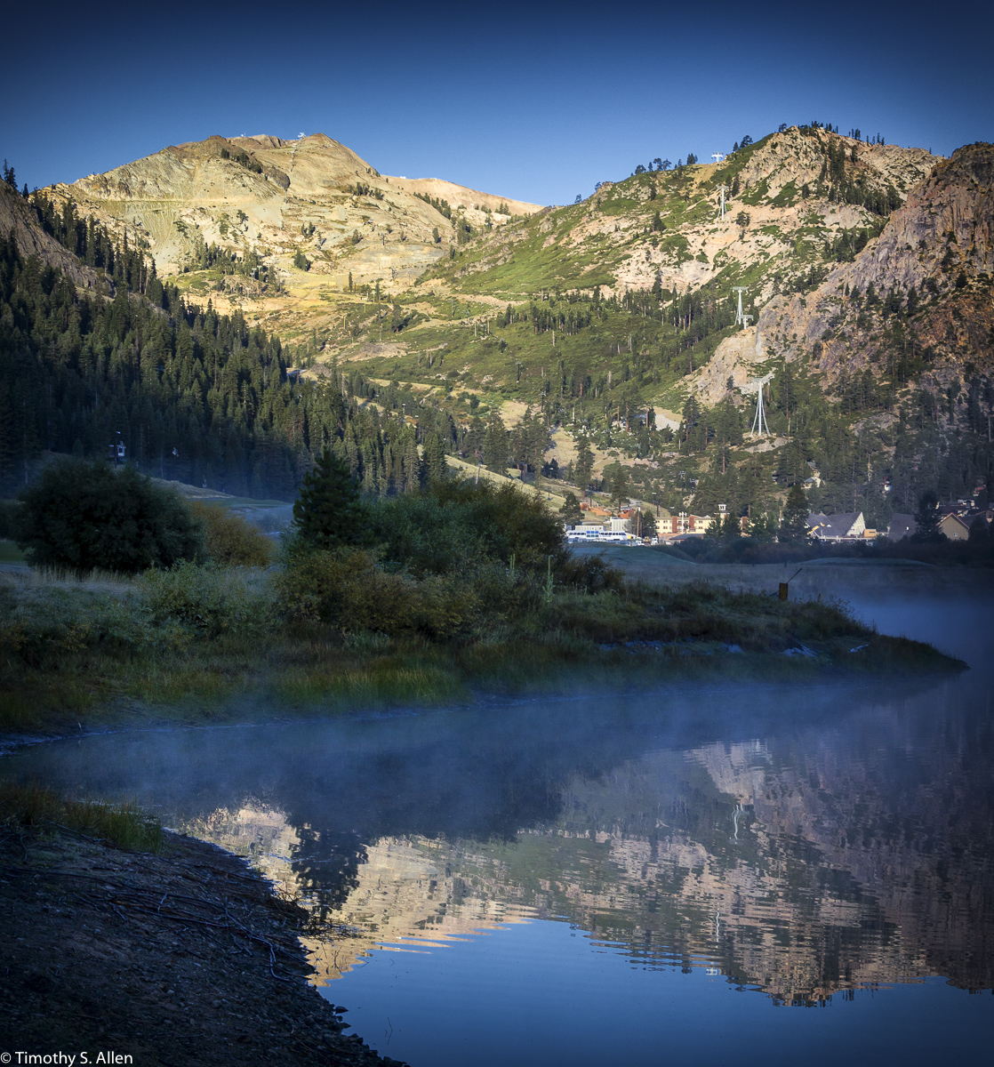 Squaw Creek Resort, Olympic Valley, CA, USA August 17, 2015