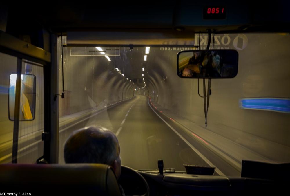 In a Tunnel Under Izmir, Turkey December 6, 2015