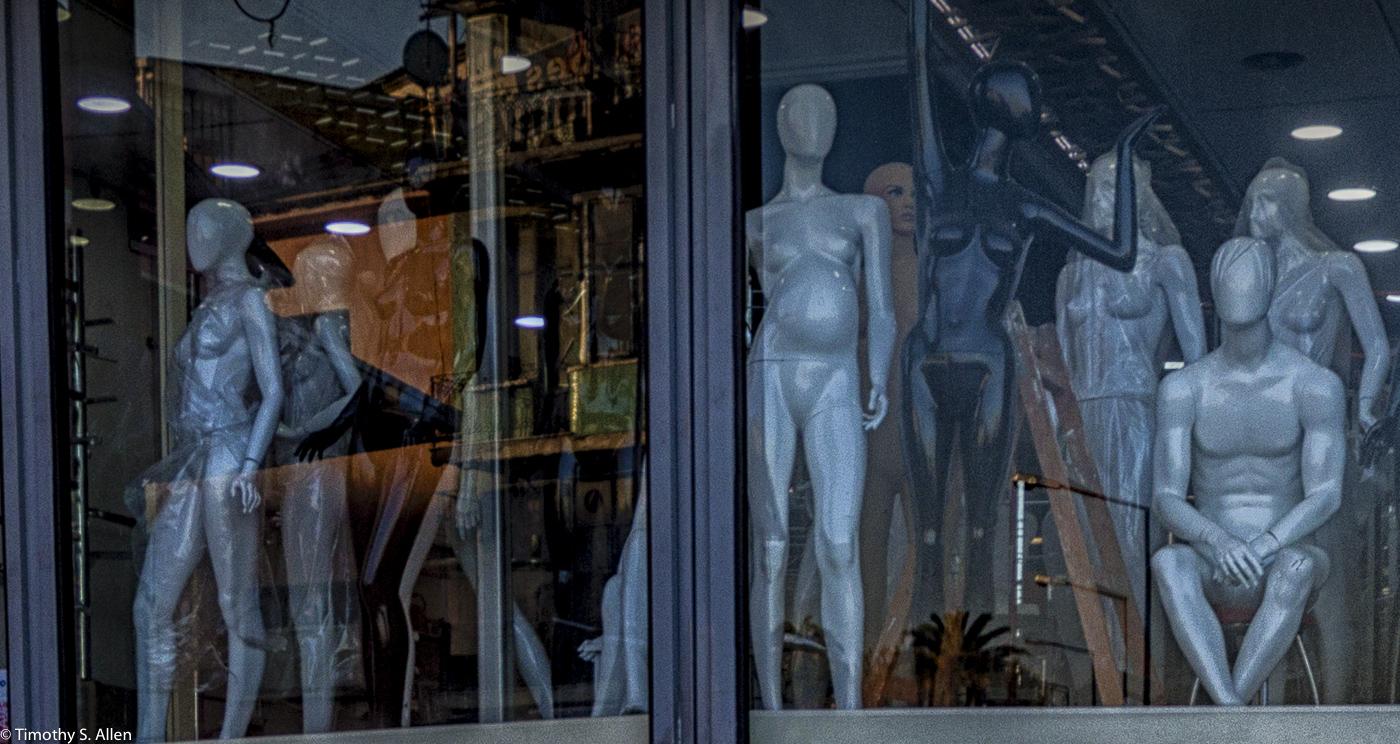 Mannequin Store Izmir, Turkey December 13, 2015