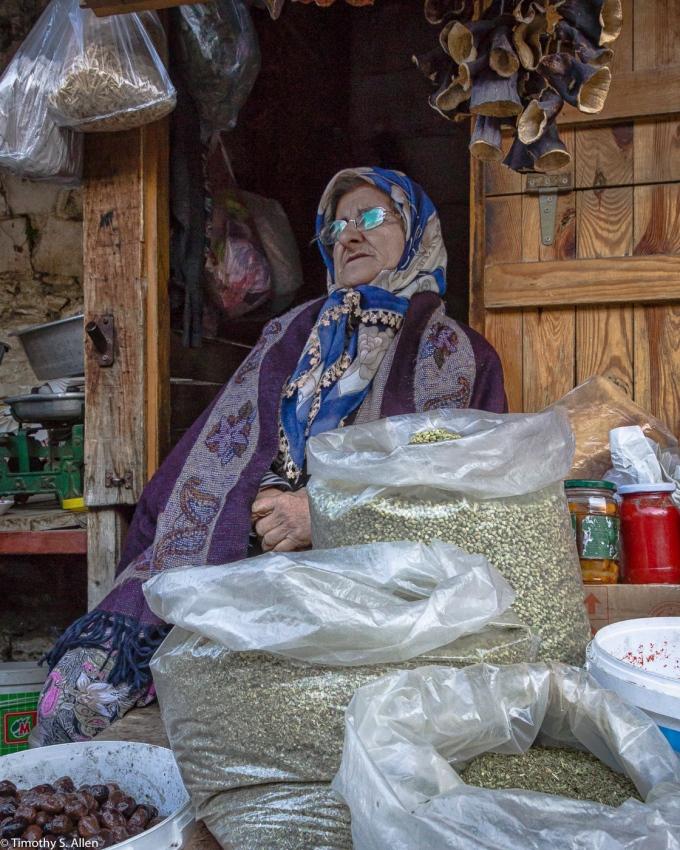 Women Merchant Sirinci Village, Turkey December 5, 2015