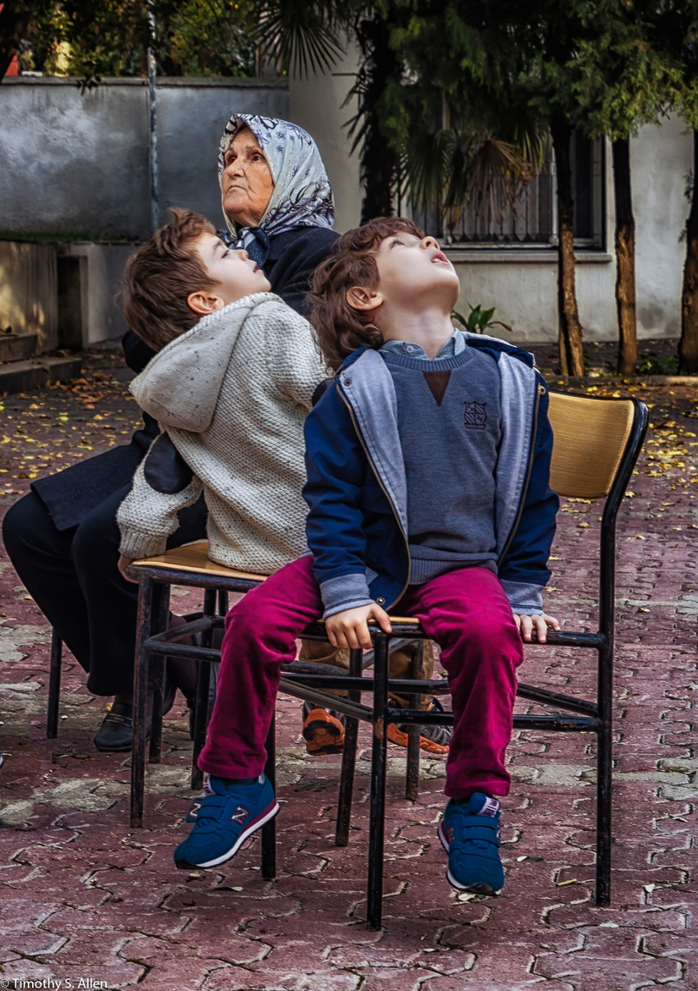 Children and Grandma Attending the Papermaking Workshop, Museum of Paper and Book Arts by Jane Ingram Allen This Workshop is Part of Allen's Fulbright Specialist Project. Ege University, Izmir, Turkey November 29, 2015