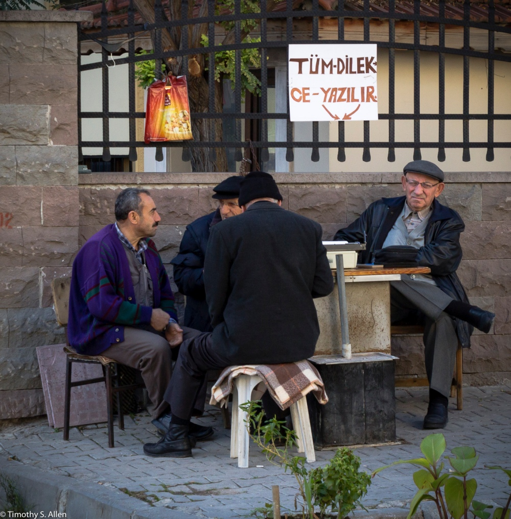 A Business? I'm Not Sure What the Sign Means. Please Let Me Know. Izmir, Turkey December 1, 2015