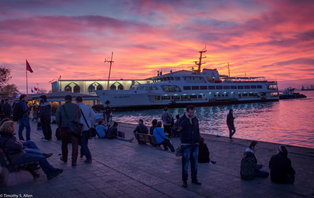 Bostanci Ferry Terminal – Istanbul, Turkey – November 23, 2015