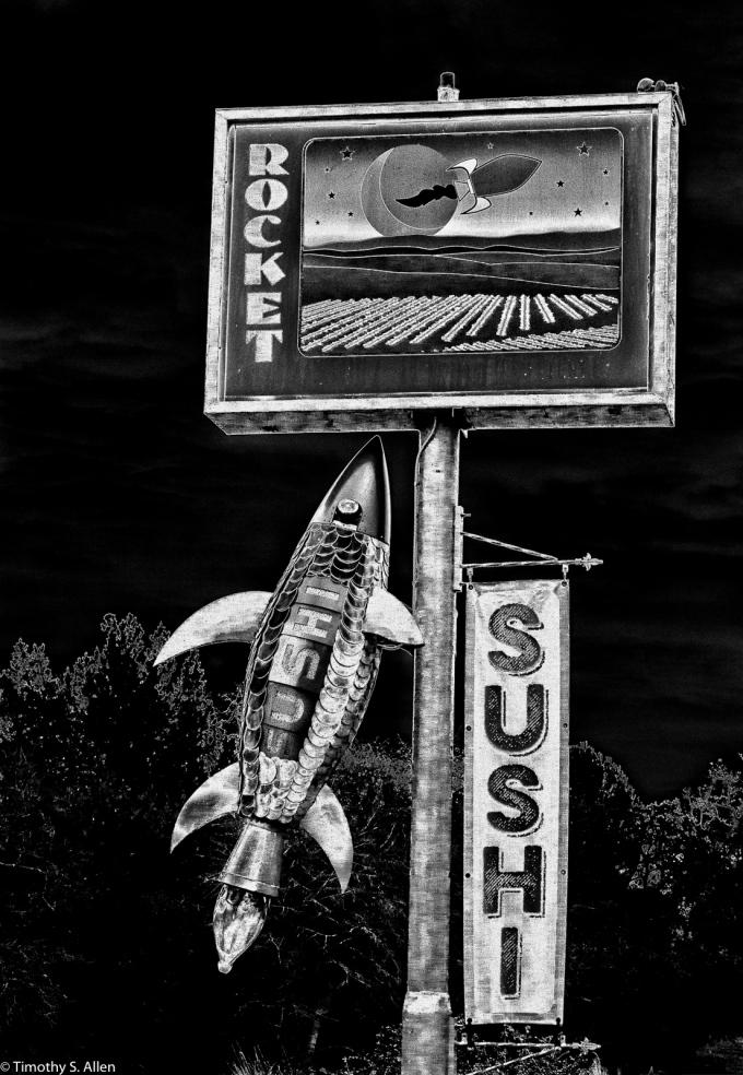 Rocket Sushi Highway 12, Boyes Hot Springs, Sonoma County, California, U.S.A. January 14, 2015