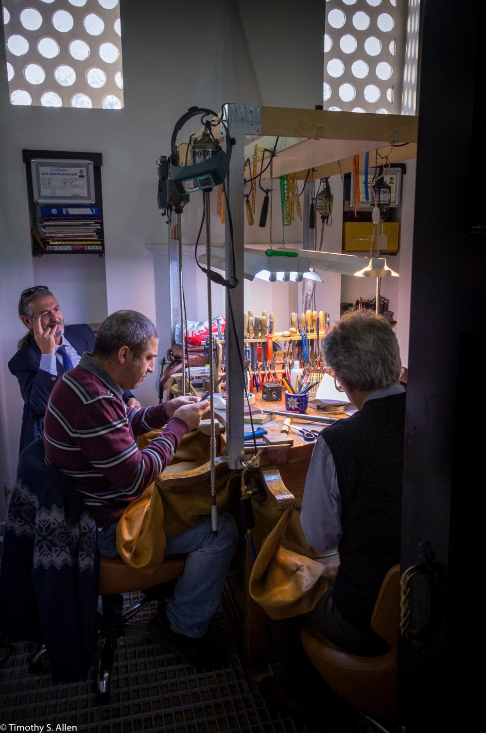 Jewelry Workshop Istanbul, Turkey November 21, 2015
