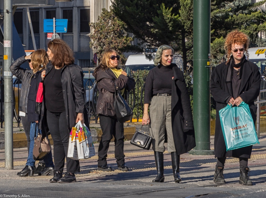 Modern Dress Istanbul, Turkey November 20, 2015
