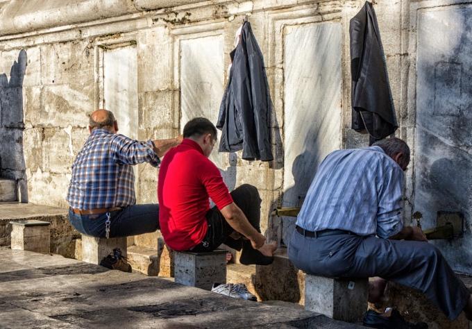 Yeni Cami (Mosque) Istanbul, Turkey November 22, 2015