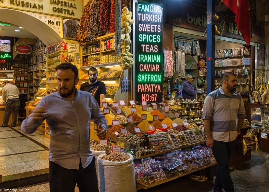 Spice Bazaar Istanbul, Turkey November 22, 2015