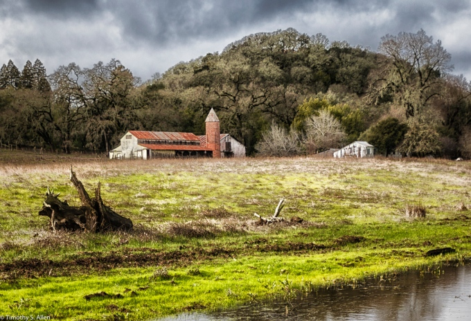 A View from Bennett Valley Road, Sonoma County, California, U.S.A. January 23, 2016