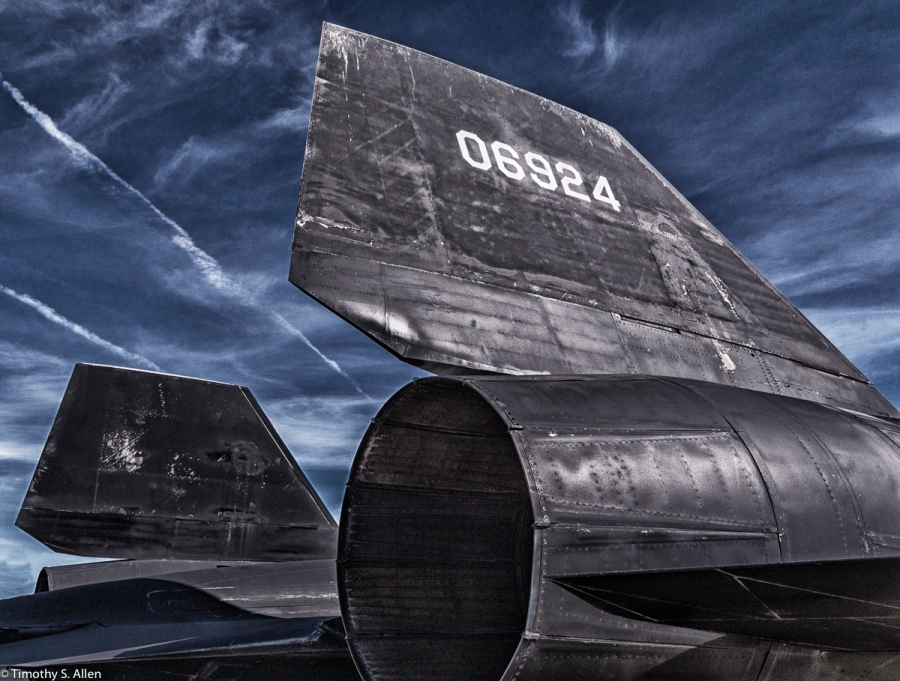 US Air Force, Lockheed SR-71 Blackbird Park, Palmdale, California, U.S.A. February 12, 2016
