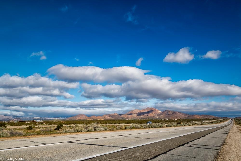 California Highway 14, Antelope Valley, California, U.S.A. March 13, 2016