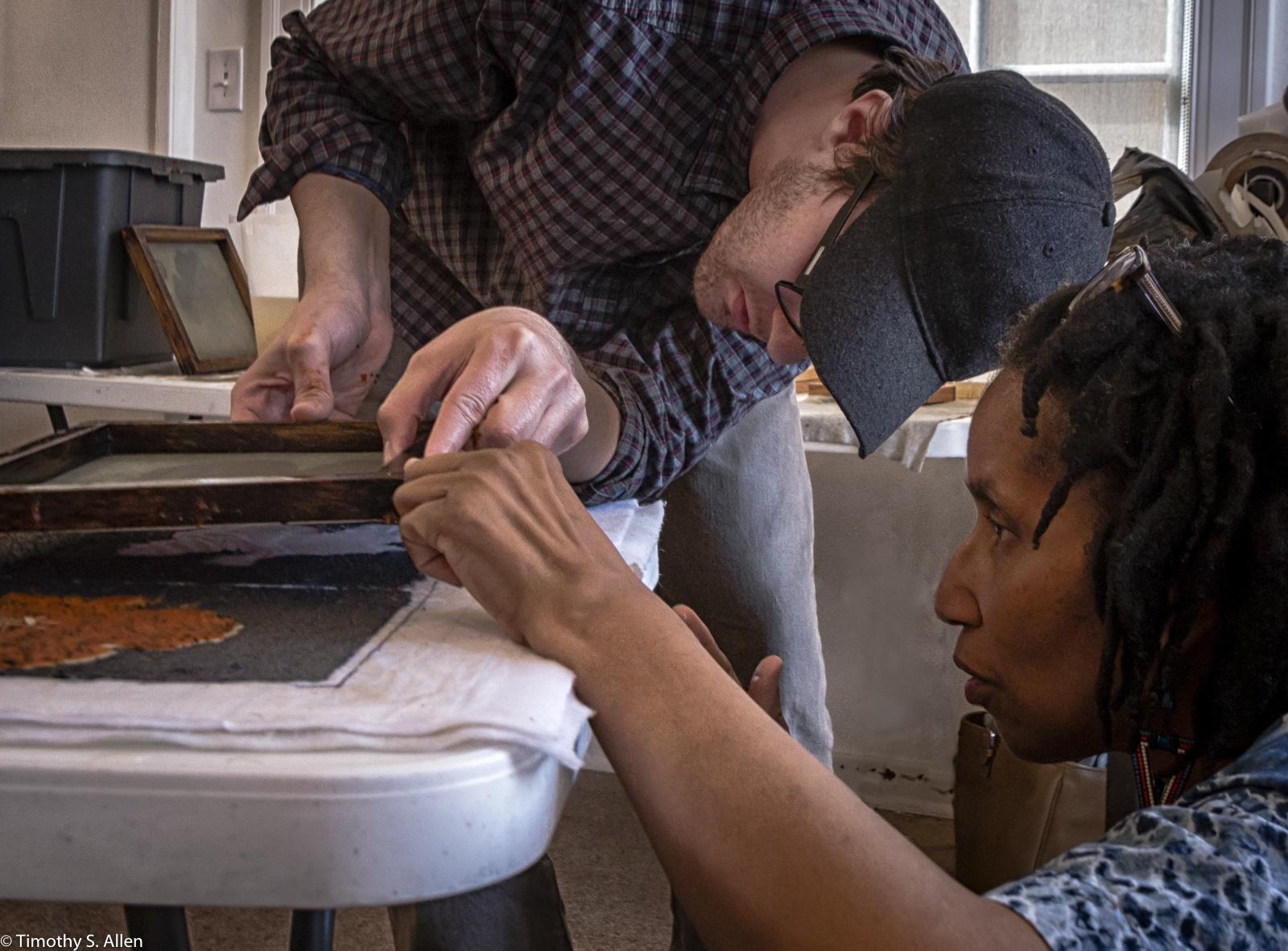 Second Saturday Workshop Jane Ingram Allen WEAD Artist in Residency Museum of Art and History - Cedar Center for the Arts, Lancaster, California, U.S.A. February 27, 2016 http://janeingramallen.wordpress.com