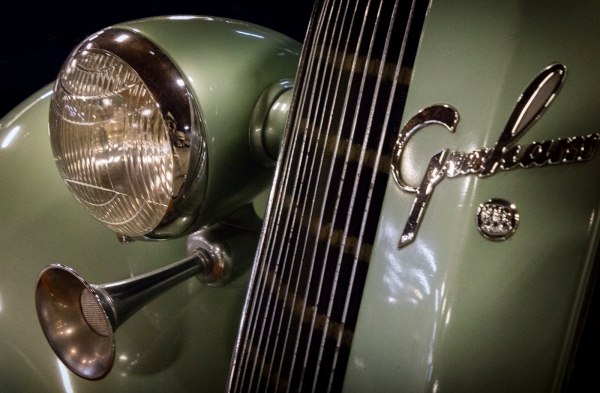 1936 Graham Supercharger Trunk Sedan California Automobile Museum – http://www.calautomuseum.org – Sacramento, California, U.S.A. – March 31, 2016