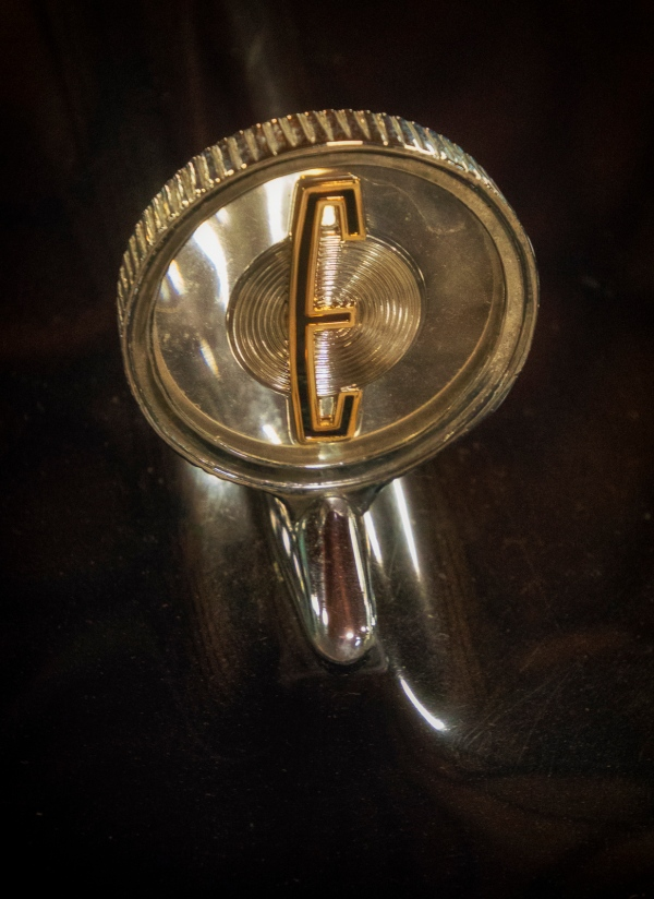 1956 Edsel Pacer Hood Ornament California Automobile Museum – http://www.calautomuseum.org – Sacramento, California, U.S.A. – March 31, 2016