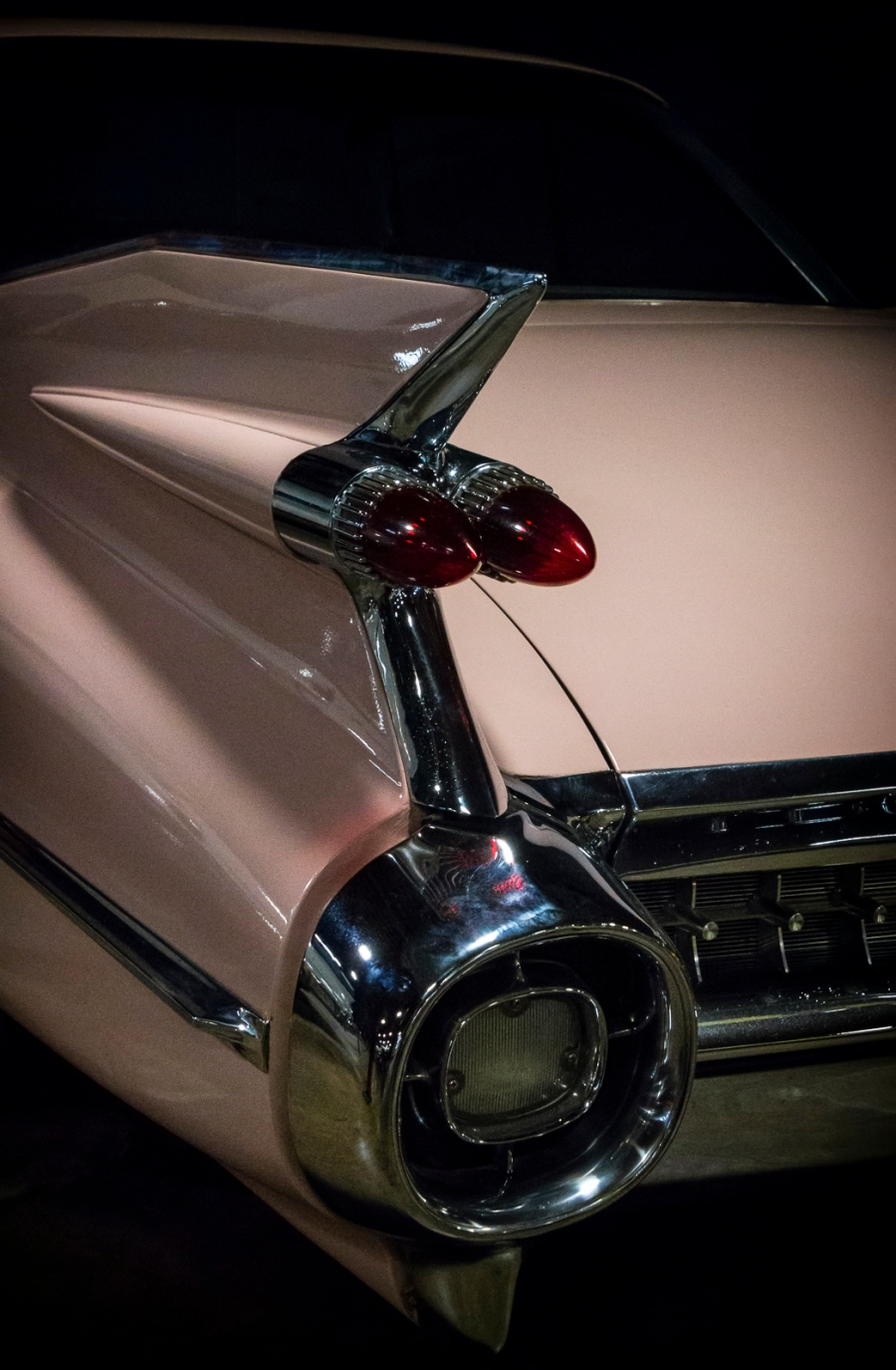 1959 Cadillac California Automobile Museum - http://www.calautomuseum.org - Sacramento, California, U.S.A. - March 31, 2016