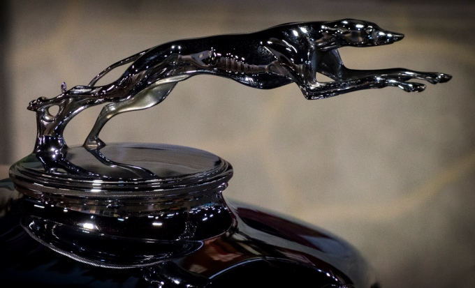 Hood Ornament 1933 Lincoln KB California Automobile Museum – http://www.calautomuseum.org – Sacramento, California, U.S.A. – March 31, 2016