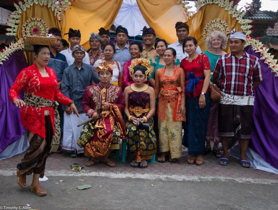 Arya & Dewi at Their Wedding Banquette Bali, Indonesia May 3, 2016