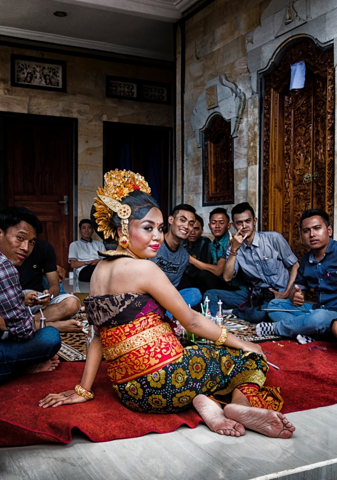 Dewi at Her Wedding Banquette Bali, Indonesia May 3, 2016