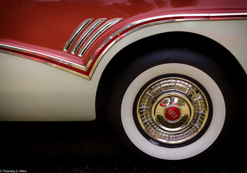 Donald and Lois Brooner's 1957 Buick Roadmaster - Photographed at the 22nd Annual Father Day's Show and Shine Car Show, Juliard Park, Santa Rosa, CA, U.S.A. - June 19, 2016