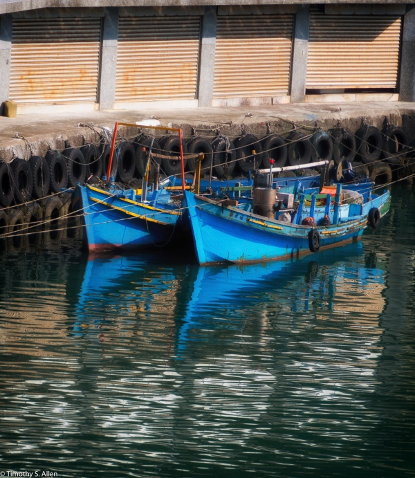Changtanli Fishing Harbor, Badouzi Village, Keelung, Taiwan June 3, 2016