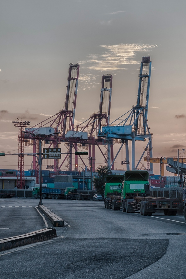 Keelung Harbor Keelung City, Taiwan May 29, 2016