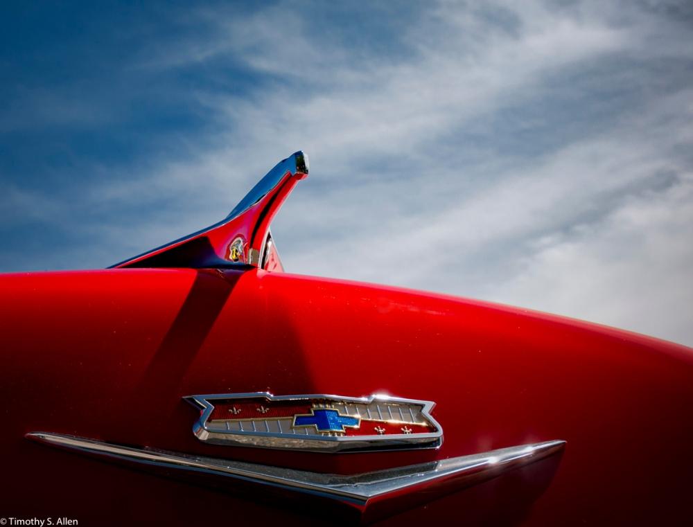 Michael Sullivan's 1956 Chevy Bel Air Photographed at Peggy Sue's Cruise, Rhonert Park, CA, U.S.A. June 11, 2016