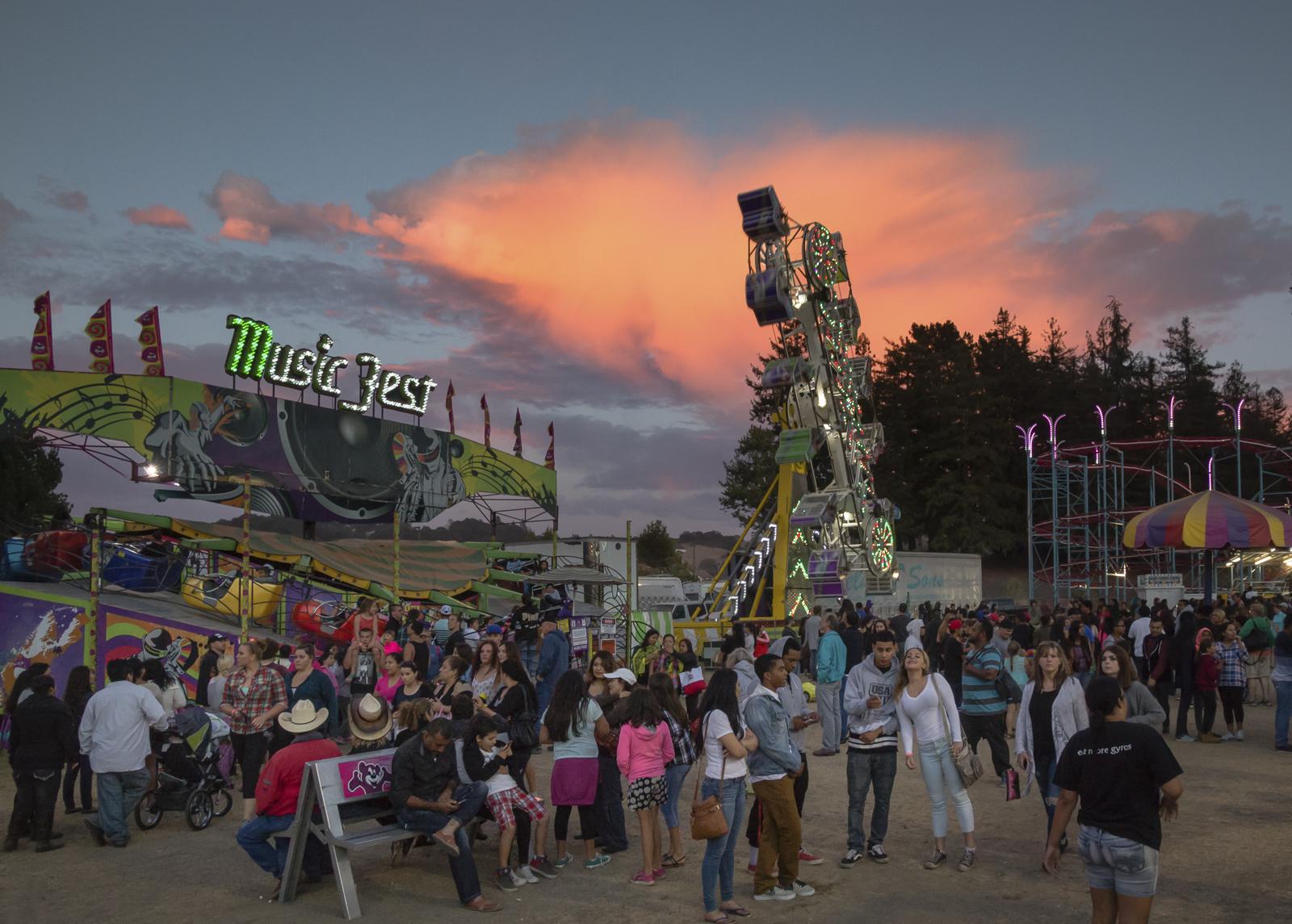 Sonoma County Fair Santa Rosa, CA, U.S.A. August 5, 2015