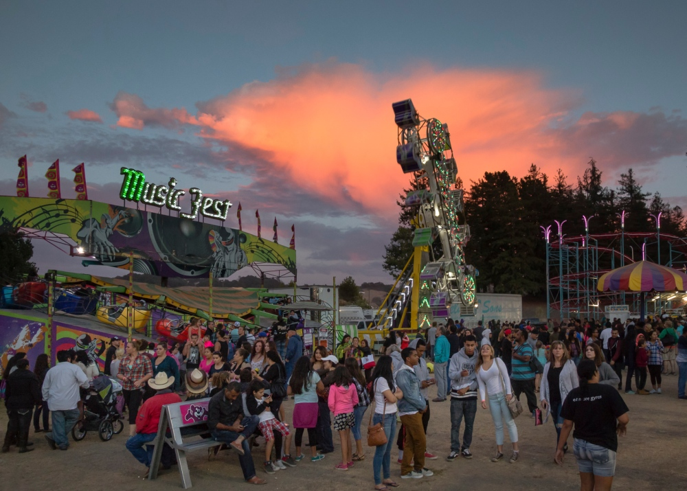 Sonoma County Fair Santa Rosa, CA, U.S.A. August 5, 2015