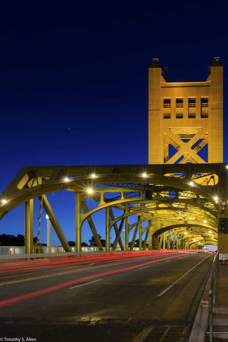 Tower Bridge Sacramento, California, U.S.A. July 11, 2016