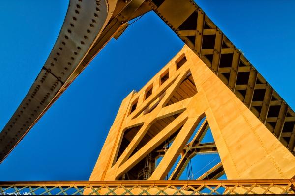 Tower Bridge Sacramento, California, U.S.A. July 11, 2016
