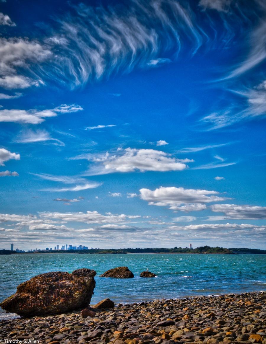 Boston Harbor Islands Boston, MA, U.S.A. August 17, 2016