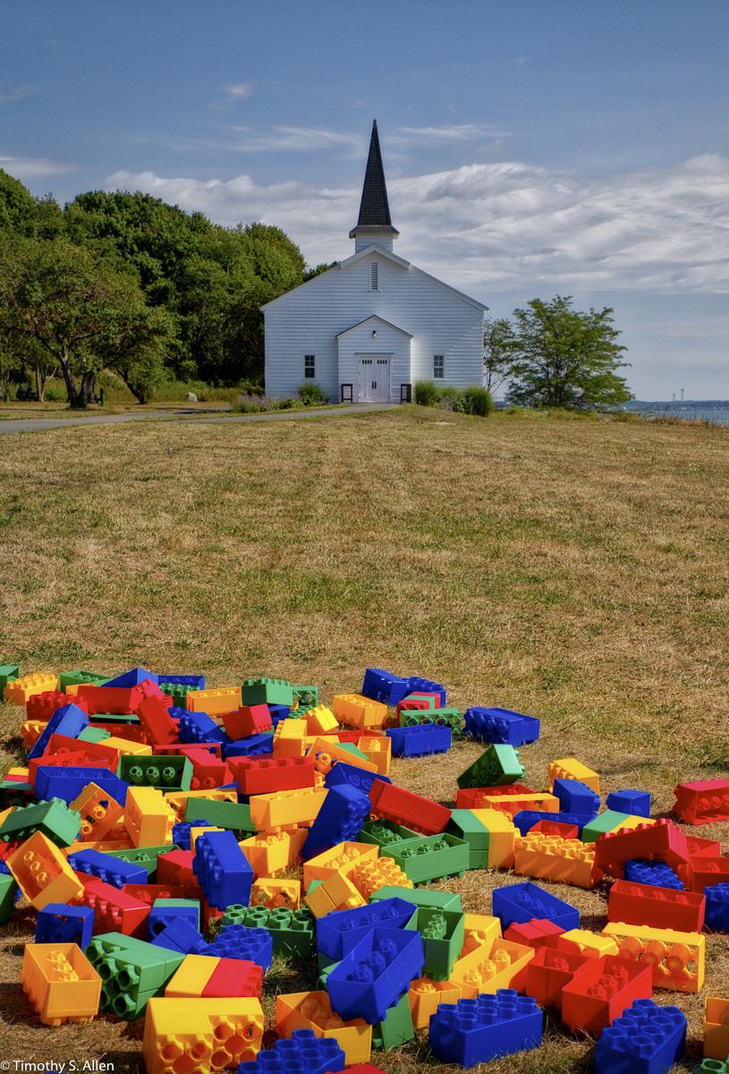 Peddock's Island Boston Harbor Islands Boston, MA, U.S.A. August 20, 2016