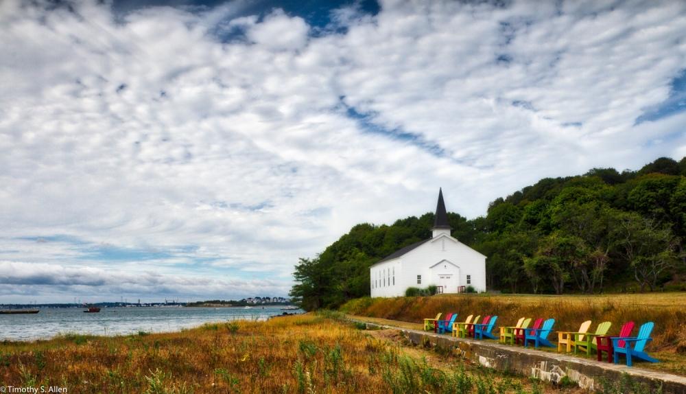 Peddock's Island Boston Harbor Islands Boston, MA, U.S.A. August 17, 2016