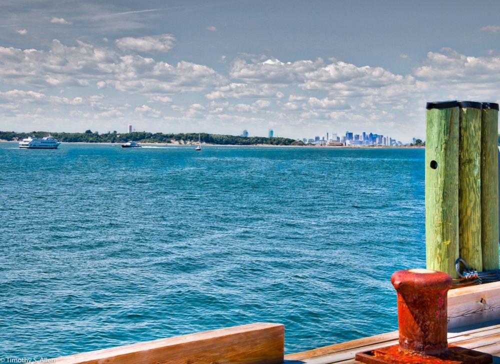 George's Island Harbor Islands Boston, MA, U.S.A. August 27, 2016