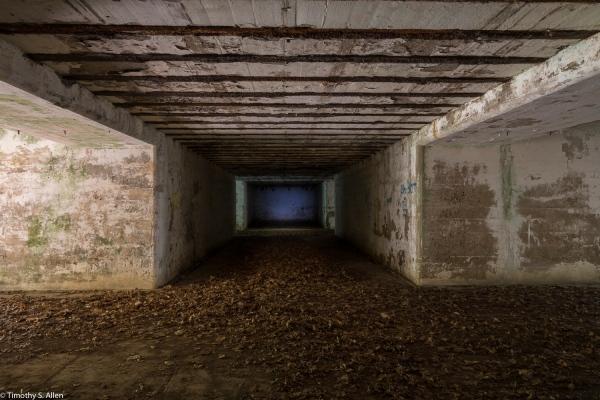 Paddock's Island Bunker, Boston Harbor Islands Boston, MA, U.S.A. August 19, 2016