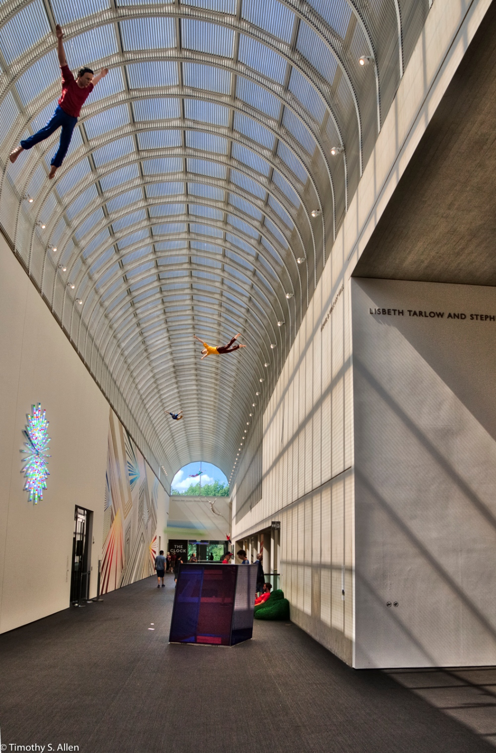 Museum of Fine Arts, Contemporary Wing, HDR, Boston, MA, U.S.A. August 14, 2016