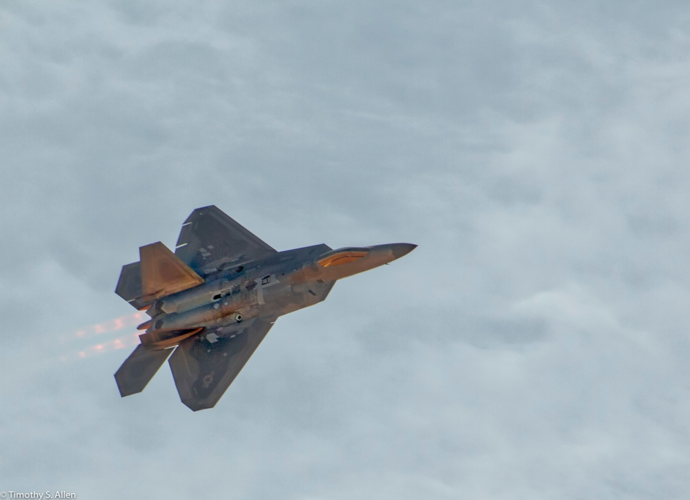 U.S. Air Force - Raptor - F-22 Wings Over Wine Country - Santa Rosa, CA, U.S.A. September 26, 2016