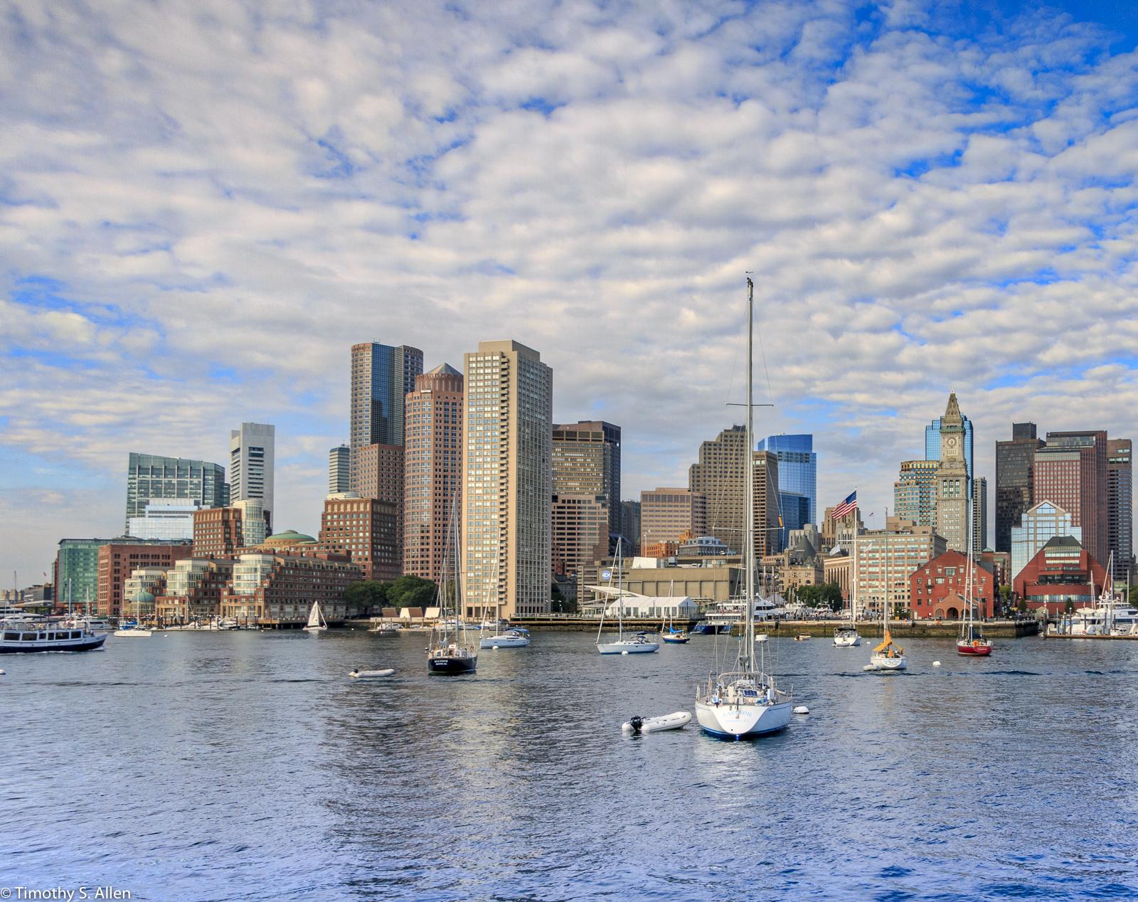 Boston Harbor Boston, MA, USA August 19, 2016